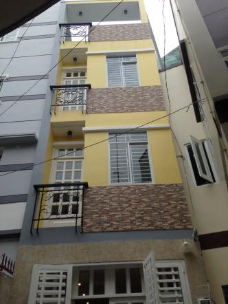 Bán nhà  đẹp, mới Bình Thạnh hẻm 3m – 3,5m đường Trần Bình Trọng, P5, Chỉ 2.5 tỷ