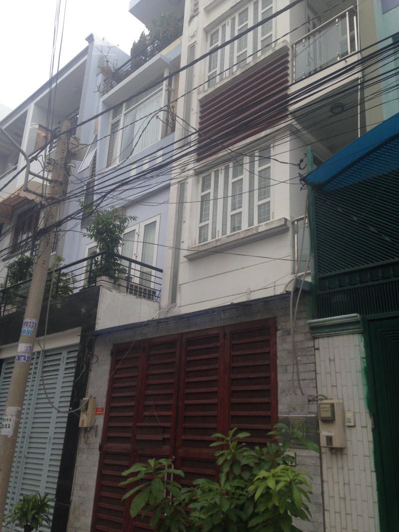 Cho thuê nhà nguyên căn khu cán hộ Hải Quận đường Nguyễn Hữu Cảnh, Bình Thạnh