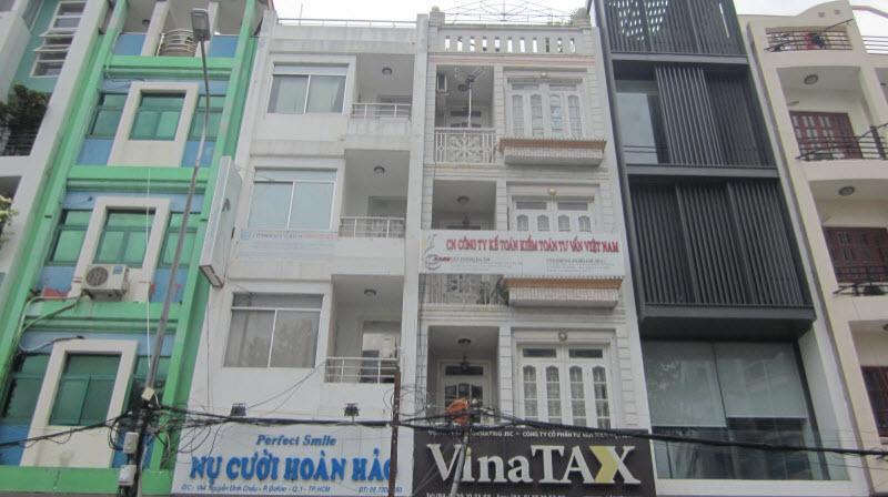 Bán nhà mặt tiền Nguyễn Đình Chiểu Phường Đakao Quận 1 giá 13.5 tỷ 4 lầu