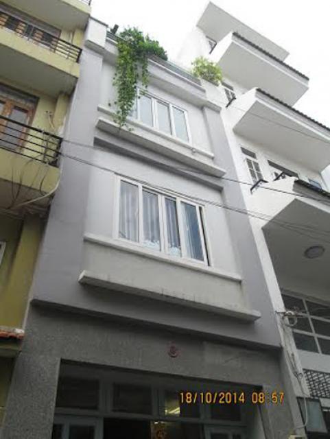 Bán nhà hẻm xe hơi Nguyễn Hữu Cảnh, Bình Thạnh, 4x17 trệt 2 lầu, 5pn, 5wc, 5,5 tỷ