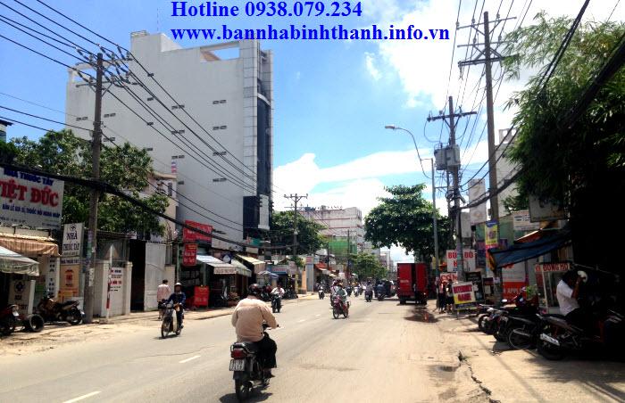 Bán tòa nhà mặt tiền Nguyễn Xí, phường 24, Bình Thạnh. 6x38, hầm trệt 7 lầu. 18 tỷ