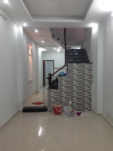 Bán nhà mới hẻm 3m đg Trần Bình Trọng, P5, Bình Thạnh. Dt 3x17 đúc 1 trệt, 1 lầu.