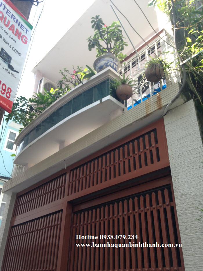 Bán nhà mặt tiền đường Phó Đức Chính, phường 1, Bình Thạnh, 4x17 trệt 1 lầu chỉ 2,85 tỷ