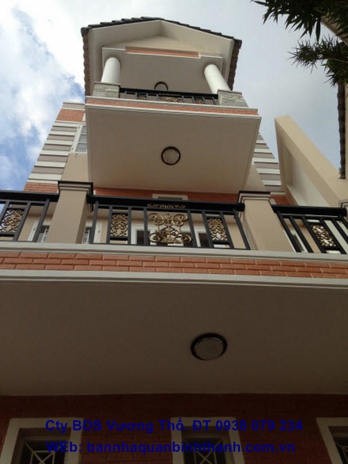 Bán Villas mới đẹp đường Trương Đăng Quế, P3 Gò Vấp Dt 6x16 đúc 1 trệt,2 lầu, sân thượng.