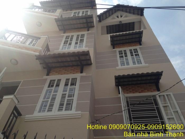 Bán biệt thự gần Hoàng Hoa Thám Phường 7 quận Bình Thạnh 3 lầu giá 3.2 tỷ