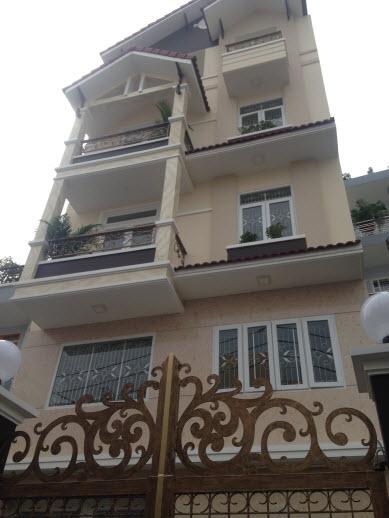 Bán biệt thự VIP mặt tiền đường Hoàng Hoa Thám, P6, BT, Dt 6.5x15 đúc 1 trệt, 1 lửng, 2 lầu, 1 áp mái. Giá 8.7 tỷ