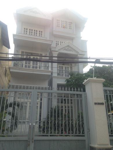 Bán biệt thự cao cấp đường Nguyễn Khuyến, P.12, Bình Thạnh, Dt 14x28 gồm 1 hầm, 1 trệt, 1 lửng, 2 lầu, sân thượng