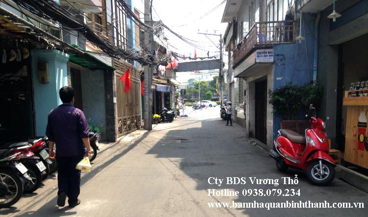 Bán nhà hẻm xe tải 8 mét số 27 Điện Biên Phủ, Bình Thạnh 4,6x18,65 trệt 2 lầu 5,3 tỷ