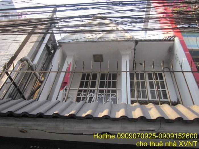 Cho thuê nhà Xô Viết Nghệ Tĩnh Phường 24 Quận Bình Thạnh 1 lầu giá 7 triệu