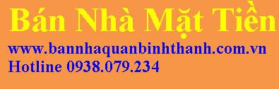 Danh sách nhà mặt tiền đường Điện Biên Phủ, quận Bình Thạnh cần bán gấp