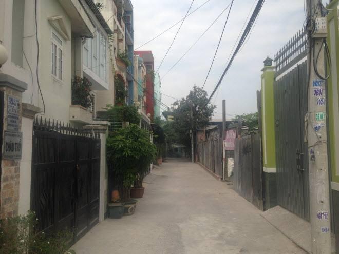 Bán đất đường Nơ Trang Long phường 13 Bình Thạnh 4x18m 2.5 tỷ
