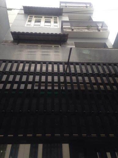 Bán nhà hẻm đường Nguyễn Thượng Hiền, P5, Bình Thạnh, Dt 4.3 x 9 n/h4.4m, 3 lầu, 3pn,4wc