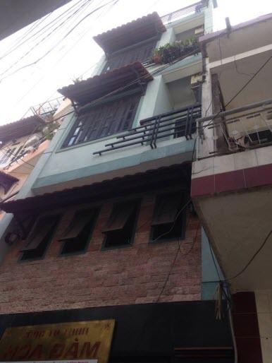 Bán nhà hẻm đường Nguyễn Thượng Hiền, P6. Bình Thạnh, Dt 3.6x9.5, 1T, 1L, 2 L, 3pn,4wc