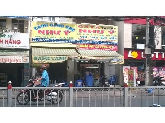 Bán nhà mặt tiền đường Xô Viết Nghệ Tĩnh, P21, Bình Thạnh, Dt 3.5x9.5 cấp 4 + gác lửng