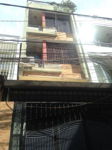 Bán nhà hxh đường Đinh Bộ Lĩnh, P26, Bình Thạnh, Dt 4x15, 1 trệt, 2 ,5 lầu, sân thượng