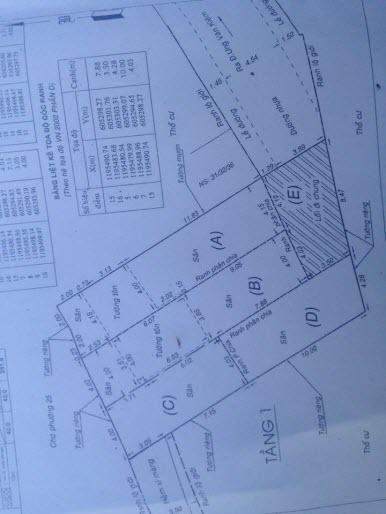 Bán đất hẻm 5m đường Ung Văn Khiêm, ngay đại học Hutech  P25, Bình Thạnh, Dt 4x11