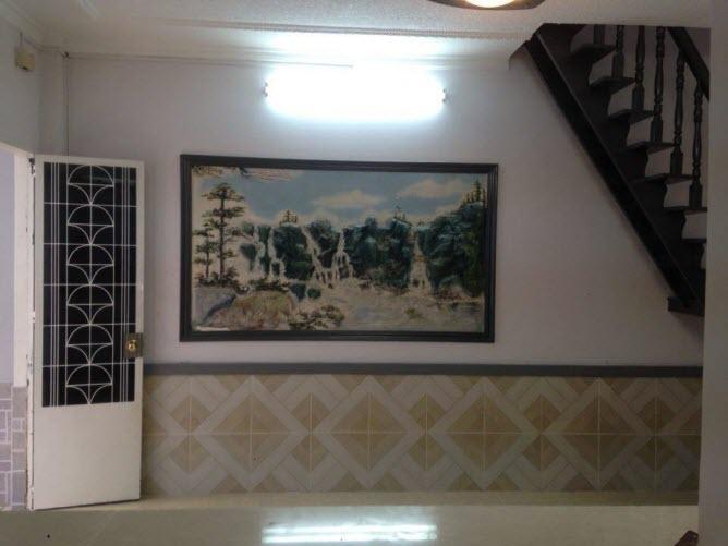 Bán nhà đẹp giá 1.68 tỷ hxh đường Phan Văn Trị, P11, Bình Thạnh, Dt 6,5x6, 1T, 1L, 2pn,2wc