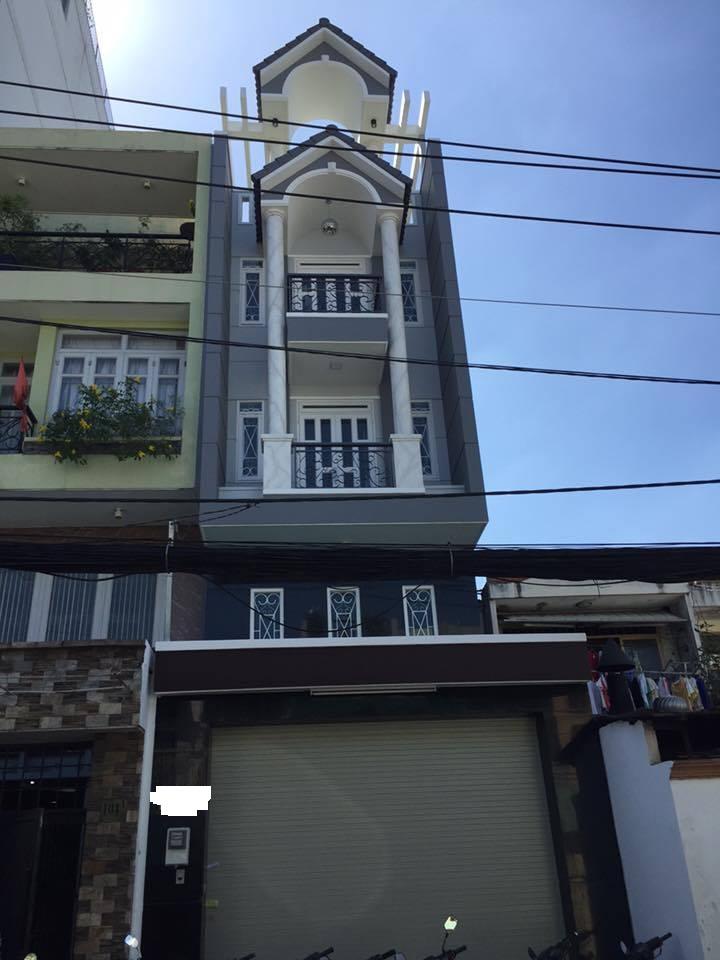 Bán nhà đường Nguyên Hồng, P11, Bình Thạnh, 4,3x16m, nở hậu 5m, giá 7,2 tỷ.