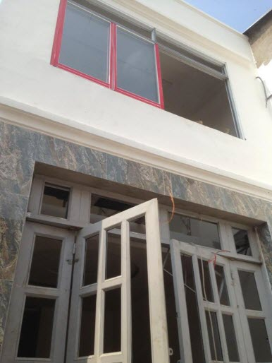 Bán nhà mới hẻm 2,5m Nơ Trang Long, P12, Bình Thạnh, 3,55x11, n/h 5m, 1 trệt, 1,5 lầu, 3pn,3wc