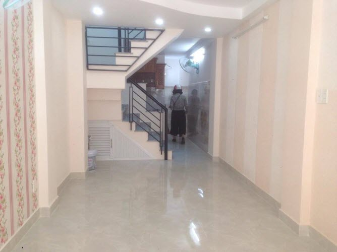 Bán nhà hẻm đường Vạn Kiếp, P3, Bình Thạnh, Dt 2.8x13, n/h3.4m, 1 trệt, 1 lầu. 2pn,2wc