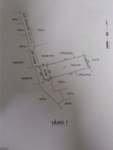 Bán nhà mát hẻm đường Võ Duy Ninh, P22, Bình Thạnh, Dt 3.6x13 giá bán 1.4 tỷ có TL.
