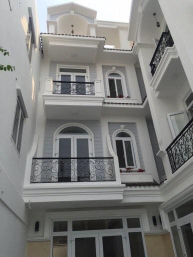 Bán nhà hxh Nguyễn Thượng Hiền, P5, Bình Thạnh, Dt 4.5x17, n/h 5m  1 trệt, 2 lầu, Sthng