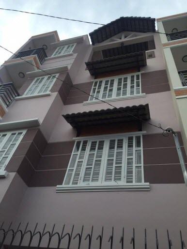 Bán nhà HXH đường Trương Đăng Quế, P4, Gò Vấp, 6,5x9, 1 trệt, 3 lầu, Sân thượng, 4pn,5wc.
