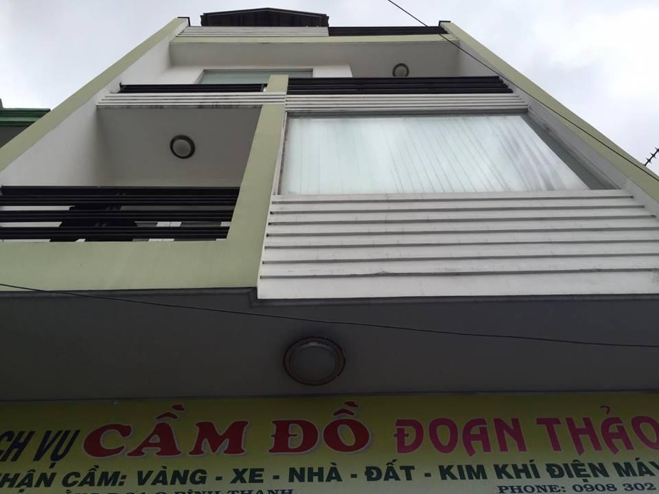 Bán nhà Bạch Đằng phường 24 quận Bình Thạnh 5.6x15.2m 3 lầu 5.5 tỷ mặt tiền chợ