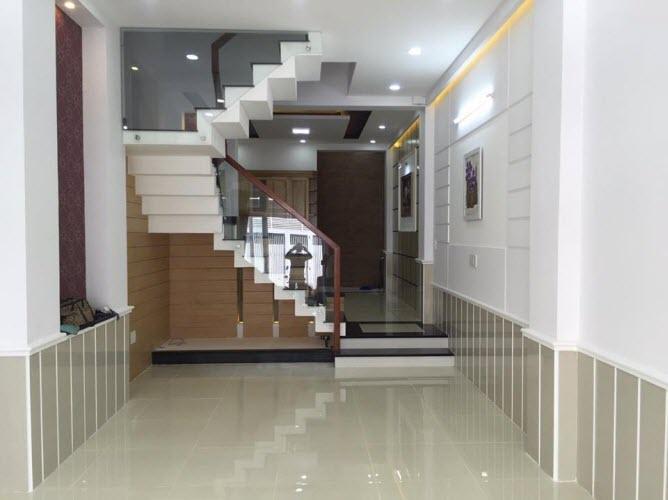 Bán nhà HXH đường Nguyễn Văn Đậu, P11, Bình Thạnh, Dt 3.8x15, 1 trệt, 2,5 lầu, sthng