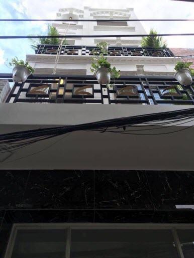 Bán nhà hẻm đường Phan Đăng Lưu, P1, Phú Nhuận, Dt 4x9 , 1 trệt, 3 lầu, sân thượng