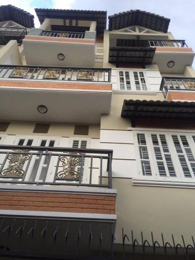 Bán Villas mini đường Trương Đăng Quế, P3, Gò Vấp, Dt 6.3x9, 1 trệt, 3 lầu, sân thượng