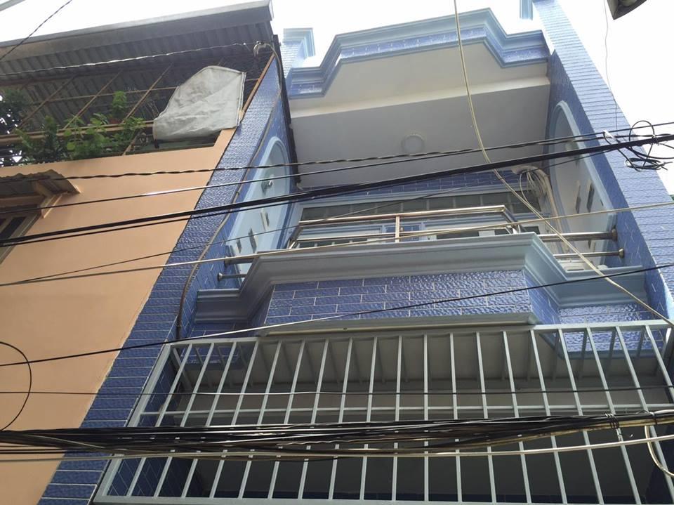 Bán nhà đường Bạch Đằng phường 15 quận Bình Thạnh 3.15x10m 1.92 tỷ