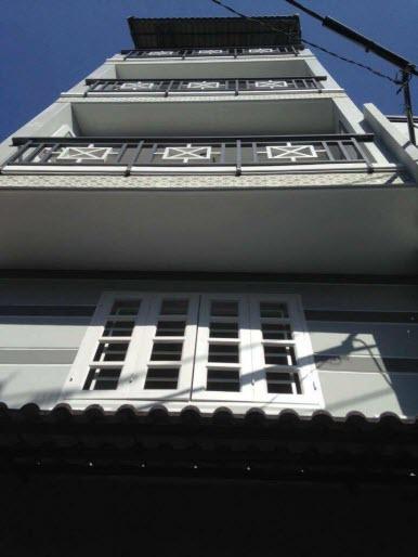 Bán nhà HXH 7m Phan Văn Trị, P11, Bình Thạnh, Dt 4x10, 1 trệt, 3 lầu, Sthng
