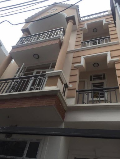 Bán biệt thự phố đường Trương Đăng Quế, P.3 Gò Vấp: Dt 5,8x12, 1 trệt, 2 lầu