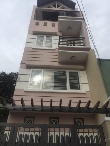 Bán nhà đường Lê Lợi phường 3 quận Gò Vấp mới xây 4x15m 3.5 lầu hẻm xe hơi