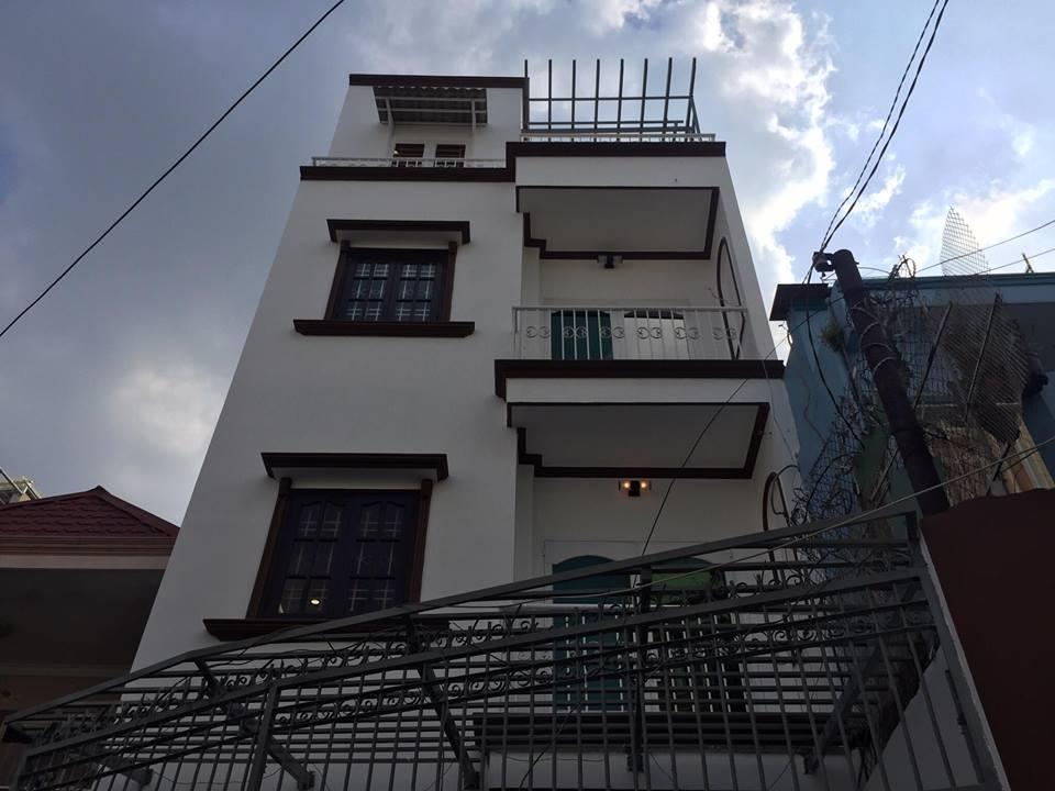 Bán nhà Bùi Đình Túy phường 12 quận Bình Thạnh 5x12.5m 3 lầu 4.7 tỷ 6PN