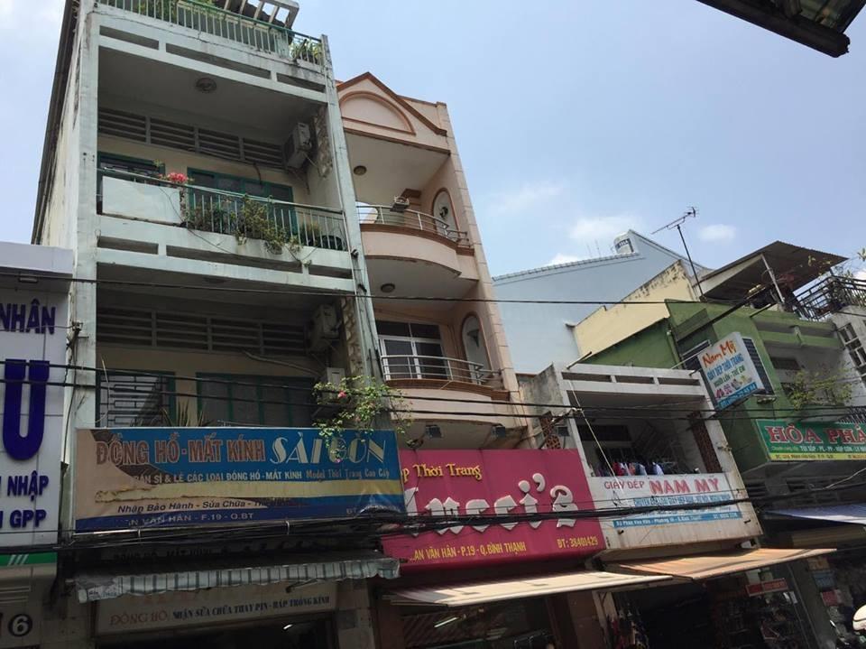Bán nhà mặt tiền Phan Văn Hân 3.8x17m 2 lầu 17.2 tỷ ngay chợ Thị Nghè
