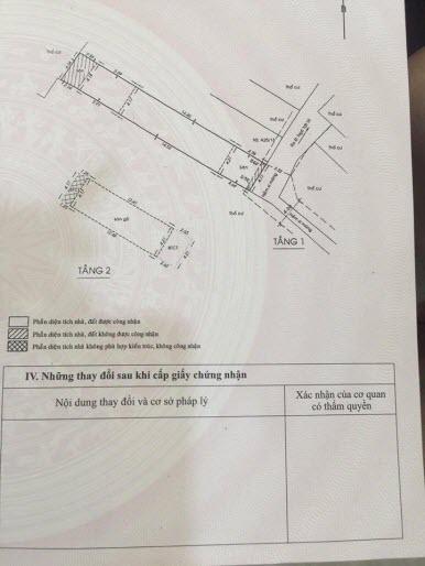 Bán nhà hẻm đường Ngô Tất Tố, P22, Bình Thạnh, Dt 4,2x27. 1 trệt, 1 lầu, 6pn,3wc