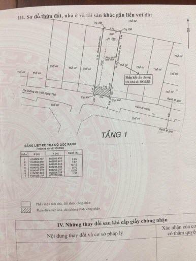 Bán nhà nát tiện xây mới đường Xô Viết Nghệ Tĩnh, P21, Bình Thạnh, Dt 3,7x13,5.