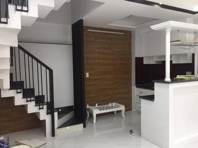 Bán nhà hẻm Nguyễn Cửu Vân, P17, Bình Thạnh, Dt 36m2, 1 trệt, 3 lầu, sân thượng