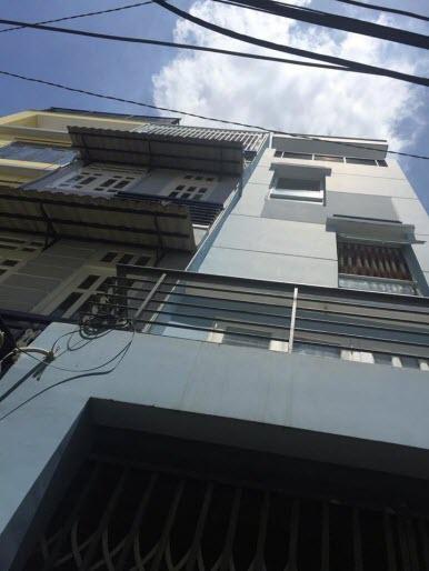 Bán nhà hẻm đường Nơ Trang Long, P13, Bình Thạnh, Dt 3.1x10, 1 trệt, 3 lầu, 3pn,3wc