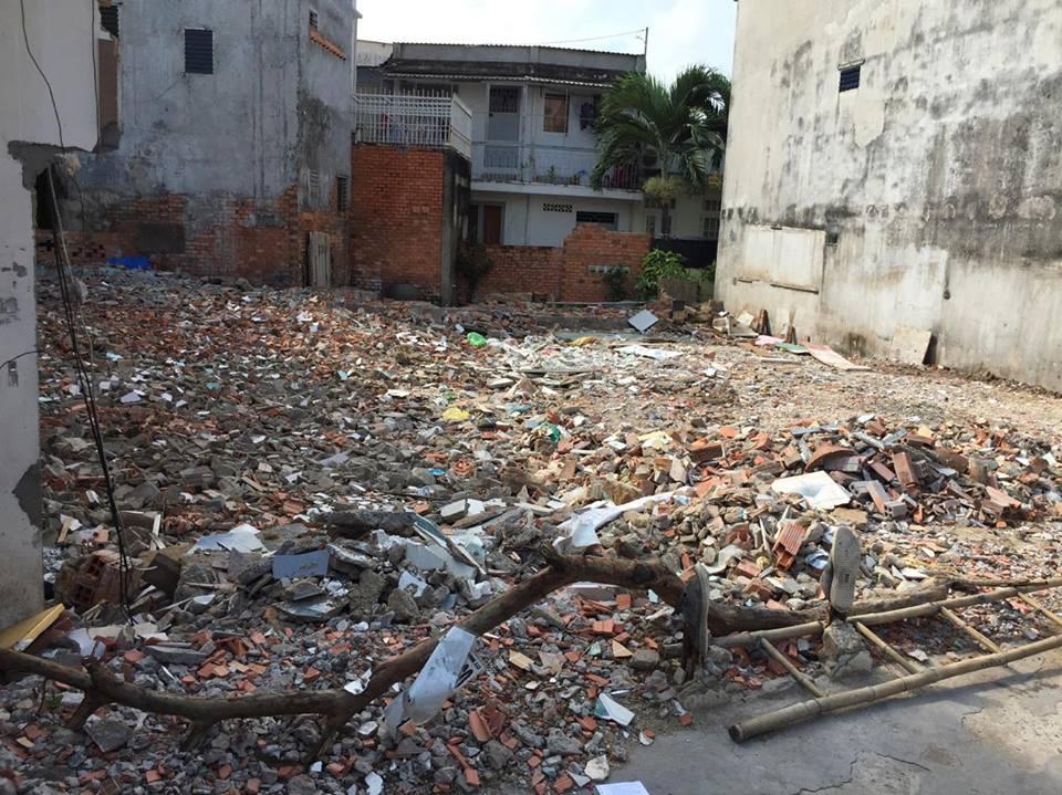Bán đất 290 Nơ Trang Long phường 12 Bình Thạnh 3.6x16m 2.85 tỷ hướng Nam