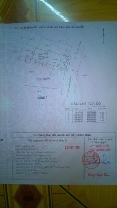 Bán nhà cấp 4 tiện xây mới mặt tiền hẻm 5m đường Lê Quang Định, P11, Bình Thạnh