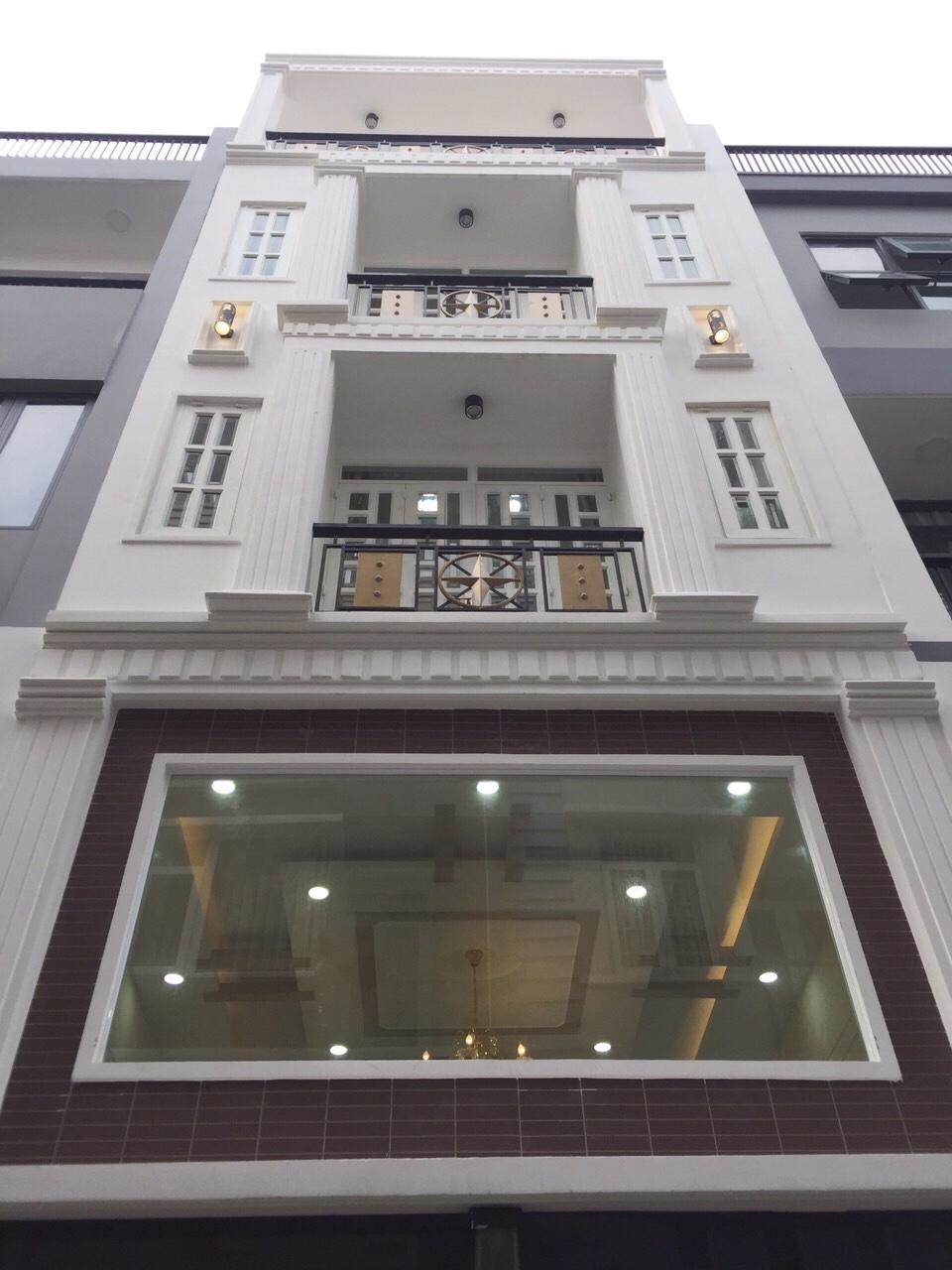 Bán nhà Chu Văn An P12 Bình Thạnh 4.5x11m 3.5 lầu giá 7.6 tỷ hẻm xe hơi