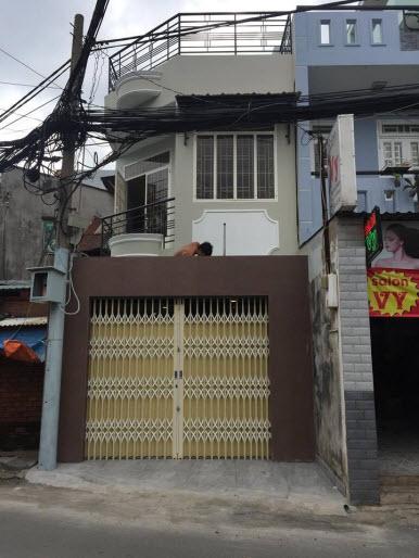 Bán nhà mặt tiền đường Nguyễn Thượng Hiền, P5, Bình Thạnh, Dt 3,75x11, 2 lầu.