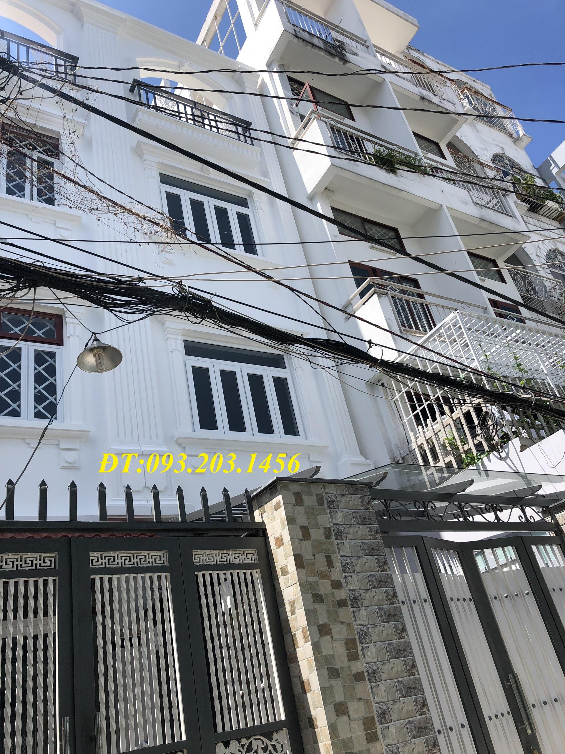 Bán nhà hẻm Xô Viết Nghệ Tĩnh, P26, Bình Thạnh, Dt 3,5x16, 3 lầu, 5pn,5wc