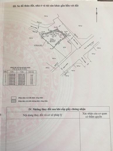 Bán lô góc 2 mặt hẻm xe hơi Trần Bình Trọng, P5, Bình Thạnh, dt 55m2 xây full