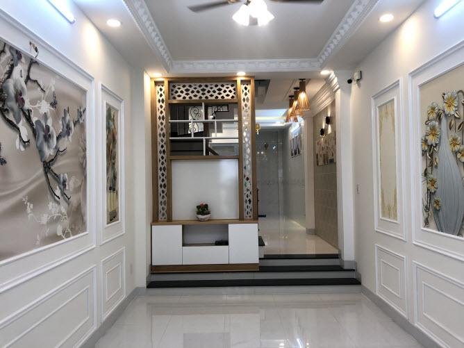 Nhà mới cao cấp hẻm Quang Trung, P10, Gò Vấp, DT 3,2x16m, 2 lầu, sân thượng, 4PN, 5WC