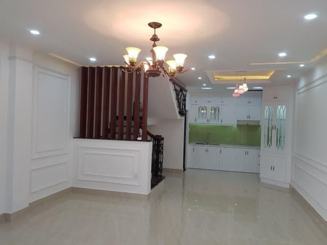 Bán nhà cao cấp khu VIP KDC Bình Lợi, Bình Thạnh, Dt 4,8x11, 1 trệt, 1 lửng, 3 lầu, sân thượng