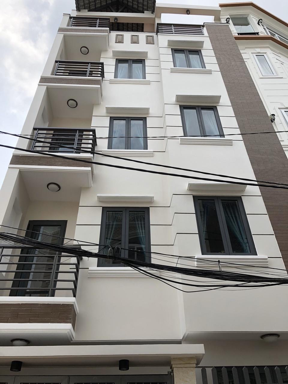 Bán nhà Phan Văn Trị P11 Bình Thạnh 4 lầu 6.4 tỷ nhà mới xây